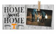 Tennessee Volunteers Home Sweet Home Clothespin Frame