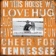 """Tennessee Volunteers In This House 10"""" x 10"""" Picture Frame"""
