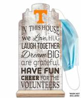 Tennessee Volunteers In This House Mask Holder