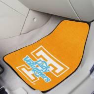 Tennessee Volunteers Lady Vols 2-Piece Carpet Car Mats