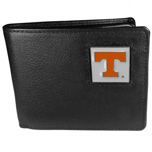 Tennessee Volunteers Leather Bi-fold Wallet in Gift Box