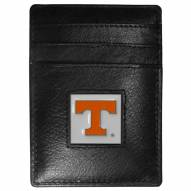 Tennessee Volunteers Leather Money Clip/Cardholder in Gift Box