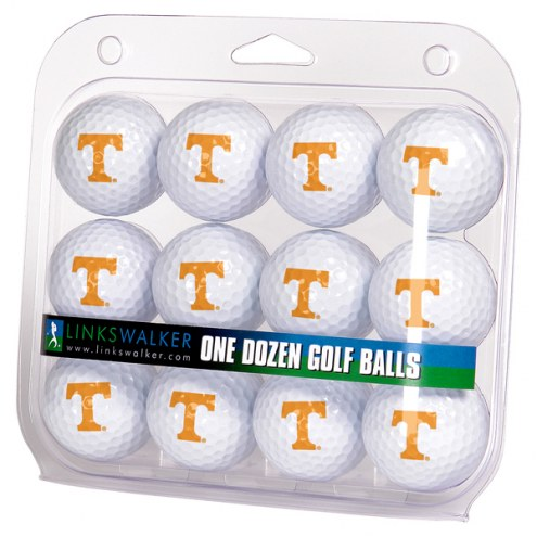 Tennessee Volunteers Dozen Golf Balls