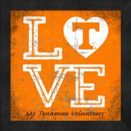 Tennessee Volunteers Love My Team Color Wall Decor