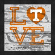 Tennessee Volunteers Love My Team Square Wall Decor
