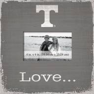 Tennessee Volunteers Love Picture Frame