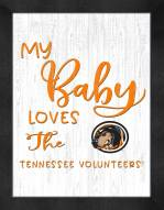Tennessee Volunteers My Baby Loves Framed Print