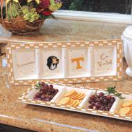 Tennessee Volunteers NCAA Ceramic Relish Tray