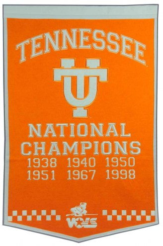 Winning Streak Tennessee Volunteers NCAA Football Dynasty Banner