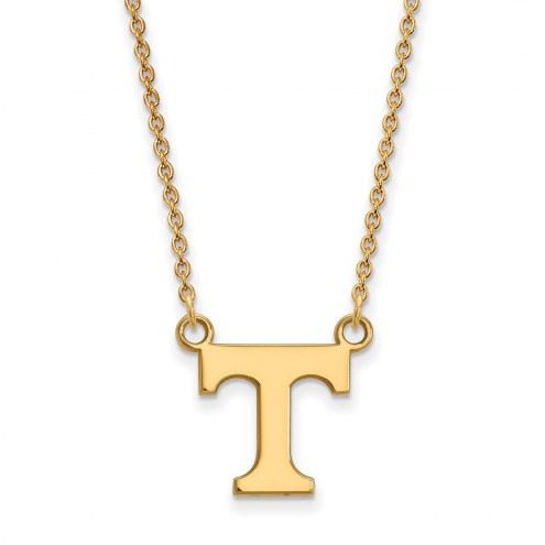 Tennessee Volunteers NCAA Sterling Silver Gold Plated Small Pendant Necklace