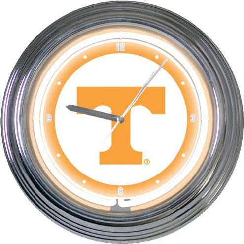 Tennessee Volunteers NCAA Neon Wall Clock