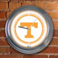 Tennessee Volunteers NCAA Neon Wall Clock