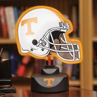 Tennessee Volunteers Neon Helmet Desk Lamp