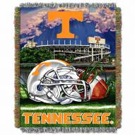 Tennessee Volunteers NCAA Woven Tapestry Throw / Blanket