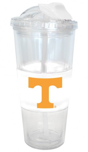 Tennessee Volunteers No Spill Straw Tumbler