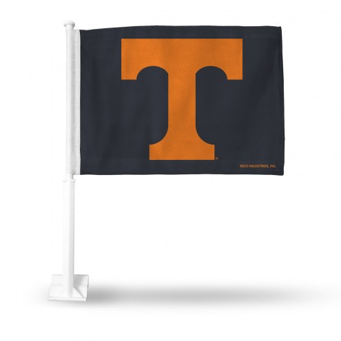 Tennessee Volunteers Orange Car Flag