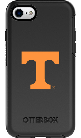 Tennessee Volunteers OtterBox iPhone 8/7 Symmetry Black Case