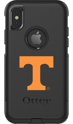 Tennessee Volunteers OtterBox iPhone X Commuter Black Case