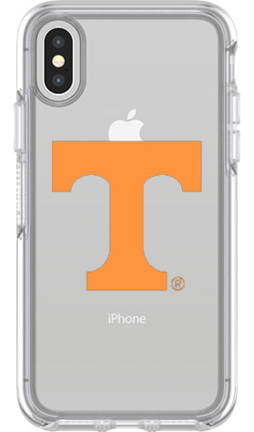 Tennessee Volunteers OtterBox iPhone X Symmetry Clear Case