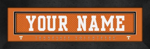 Tennessee Volunteers Personalized Stitched Jersey Print