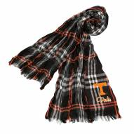 Tennessee Volunteers Plaid Crinkle Scarf