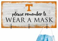 Tennessee Volunteers Please Wear Your Mask Sign
