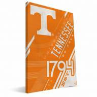 Tennessee Volunteers Retro Canvas Print