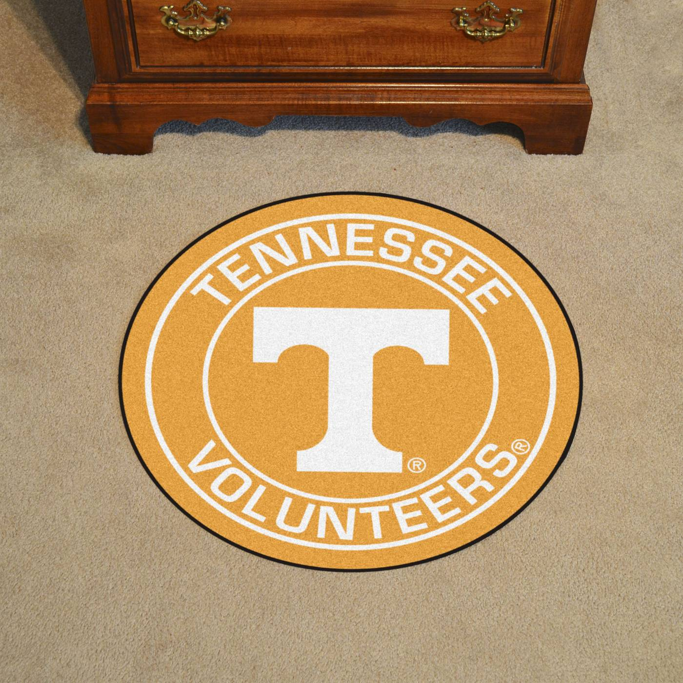 Boston Bruins Home Decor Tennessee Volunteers Rounded Mat
