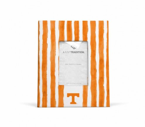 Tennessee Volunteers School Stripes Picture Frame
