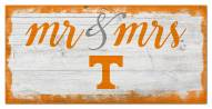 Tennessee Volunteers Script Mr. & Mrs. Sign