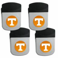 Tennessee Volunteers 4 Pack Chip Clip Magnet with Bottle Opener