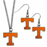 Tennessee Volunteers Dangle Earrings & Chain Necklace Set