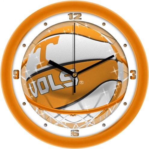 Tennessee Volunteers Slam Dunk Wall Clock