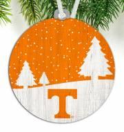Tennessee Volunteers Snow Scene Ornament