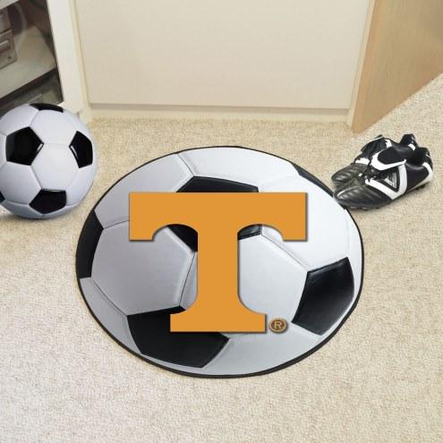 Tennessee Volunteers Soccer Ball Mat