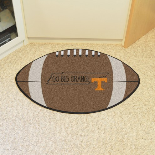 Tennessee Volunteers Southern Style Football Floor Mat