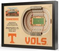 Tennessee Volunteers 25-Layer StadiumViews 3D Wall Art