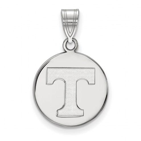 Tennessee Volunteers Sterling Silver Medium Disc Pendant