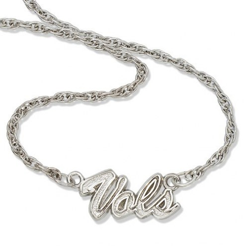 Tennessee Volunteers Sterling Silver Script Necklace