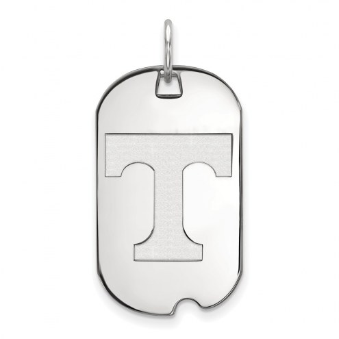Tennessee Volunteers Sterling Silver Small Dog Tag