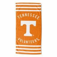 Tennessee Volunteers Stripes Beach Towel