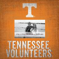 """Tennessee Volunteers Team Name 10"""" x 10"""" Picture Frame"""