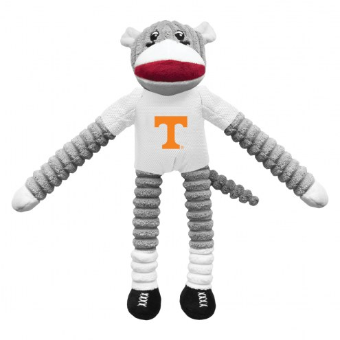 Tennessee Volunteers Team Sock Monkey Pet Toy