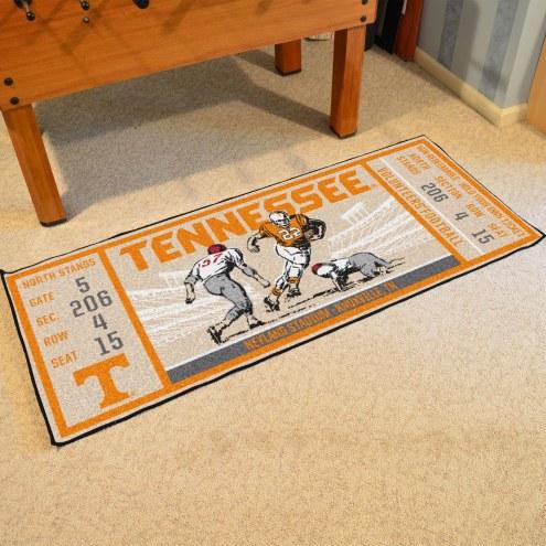 Tennessee Volunteers Ticket Runner Rug