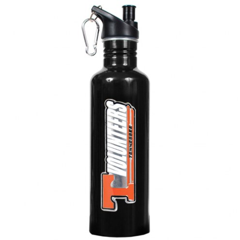 Tennessee Volunteers Black 26 oz. Stainless Steel Water Bottle