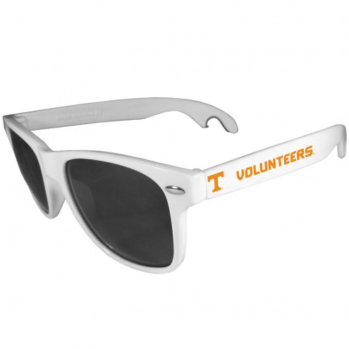 Tennessee Volunteers White Beachfarer Bottle Opener Sunglasses