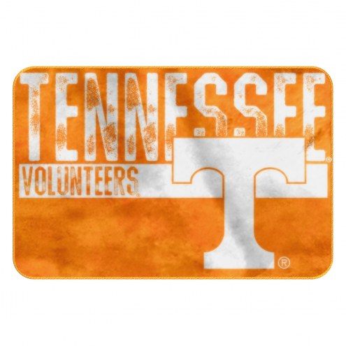 Tennessee Volunteers Worn Out Bath Mat