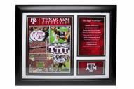 """Texas A&M Aggies 12"""" x 18"""" Photo Stat Frame"""