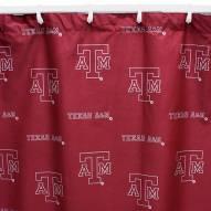 Texas A&M Aggies Shower Curtain