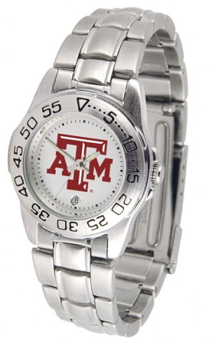 Texas A&M Aggies Sport Steel Women's Watch